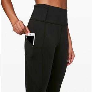 black lulu lemon pants